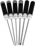 Hobby Pro screw driver set 6 pieces metric.