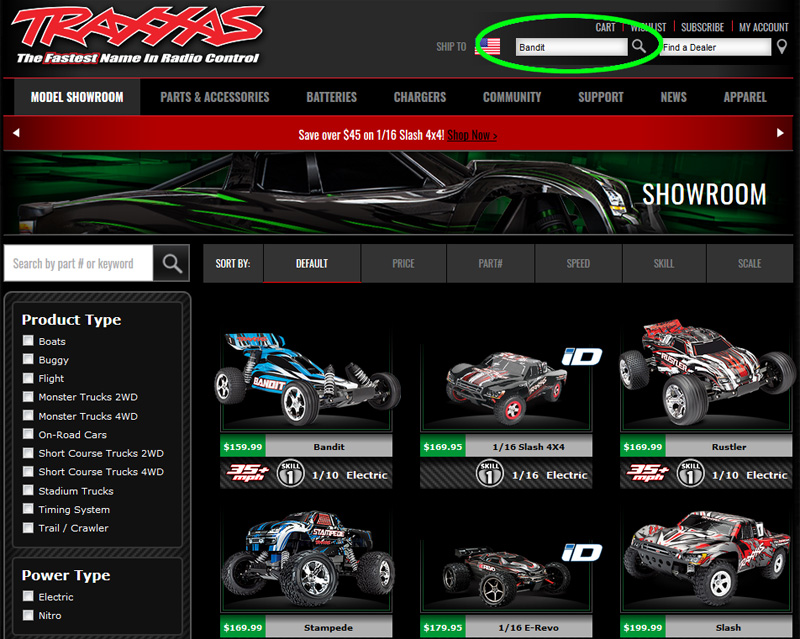 Traxxas: How to use spare parts & exploded view sheets