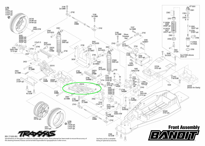 starting with the exploded view sheets, these will give you an instant view  on all parts of your traxxas model, allowing you to find the correct  part(s) you