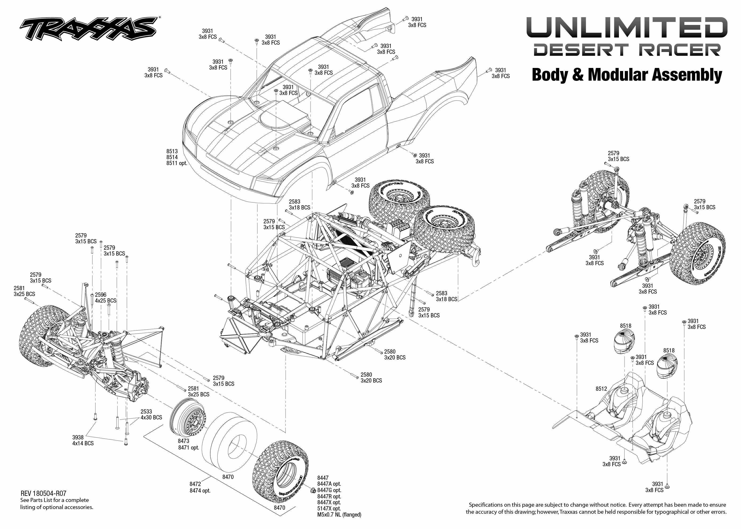 Traxxas Unlimited Desert Racer UDR   EuroRC com
