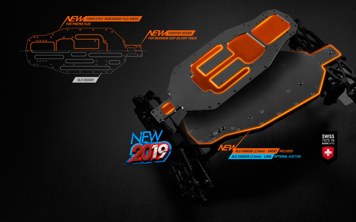 Xray 1:10 XB2D -19 Luxyrious 2wd Electric Buggy Kit -Dirt Edition