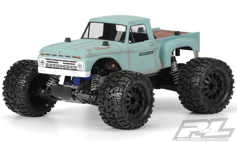 Pro-Line 1966 Ford F-100 Clear Body for Traxxas Stampede | EuroRC.com