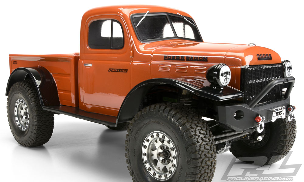 Pro-Line 1946 Dodge Power Wagon Clear - 313mm | EuroRC.com