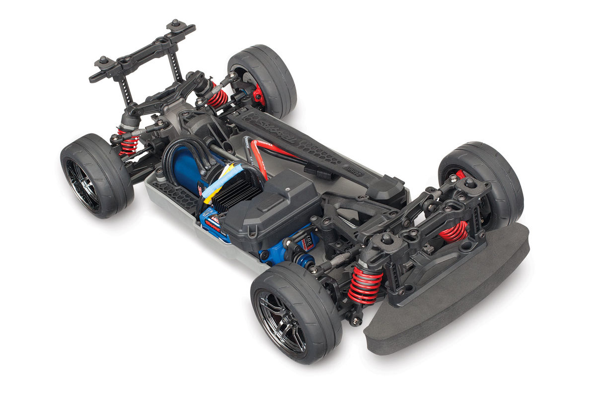 Traxxas 1/10 Scale 4-Tec 2 0 VXL AWD Chassis