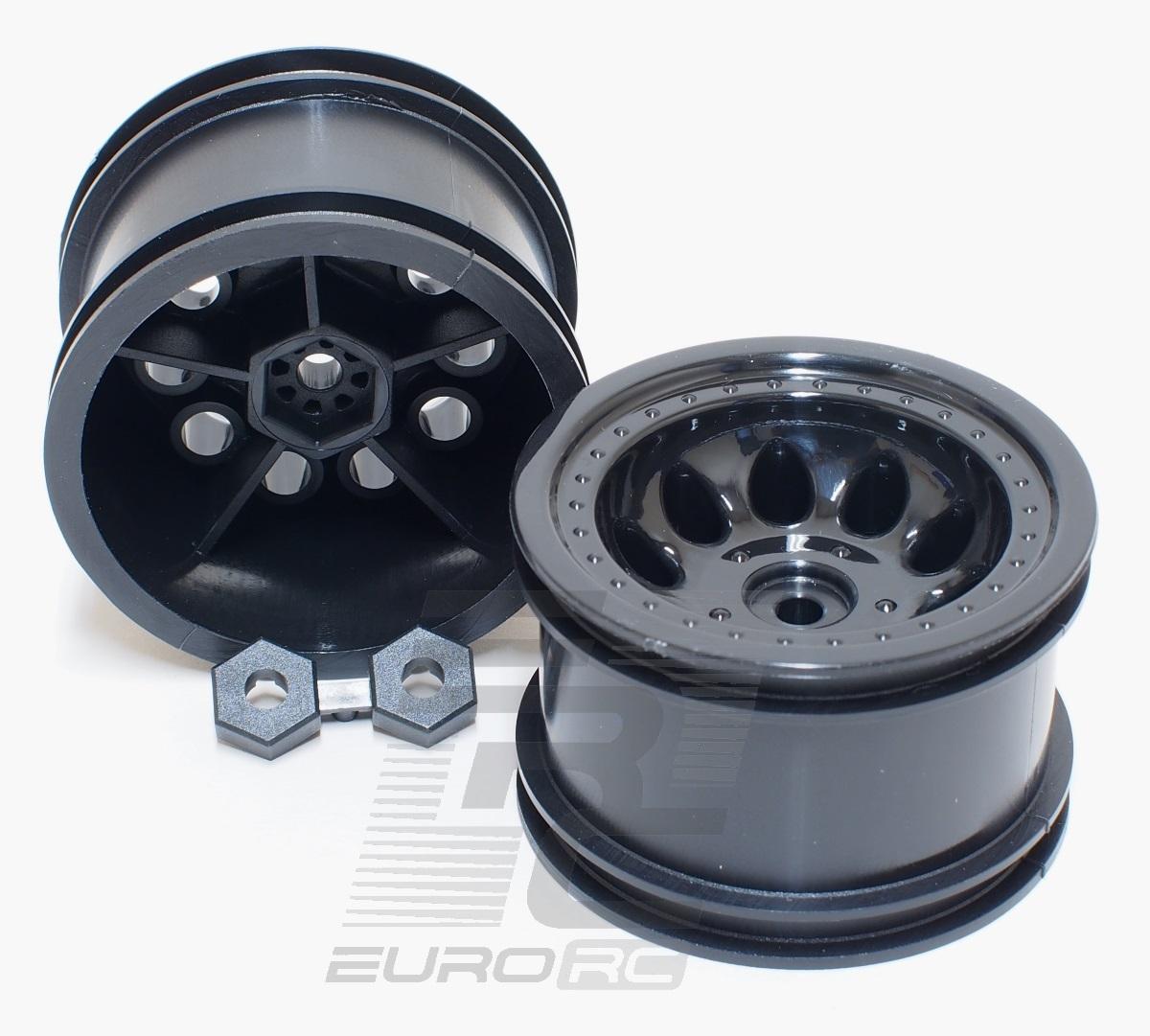 RPM Revolver 2.2 Wide Wheelbase Wheels Black Free Shipping