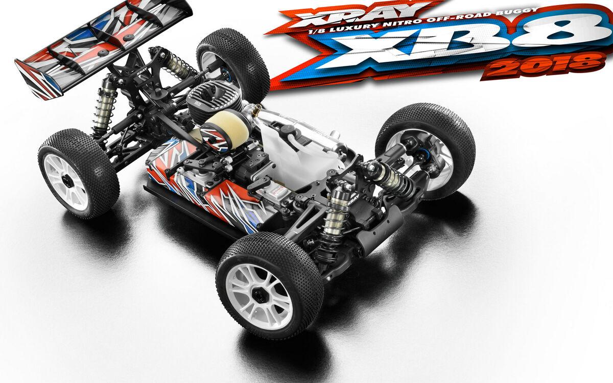 Opened Packing - Xray XB8 2018 - Luxyrious 1:8 Racing Nitro Buggy KIT