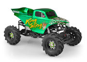 JConcepts King Sling - Mega Truck Body With Scoop & Spoiler