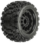 "Pro-Line Badlands MX28 2.8"" Traxxas Style Bead - All Terrain Tires Mounted (2) - Stampede 2WD R"