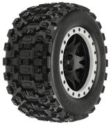 Pro-Line Badlands MX43 Pro-Loc All Terrain Tires Mounted - X-MAXX (2)