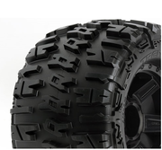 "Pro-Line Trencher X 3.8"" All Terrain Tires Mounted - 17mm - 1/2"" Offset (2)"