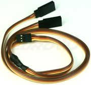 EuroRC JR Straight 22AWG - Y Extension Wire - 60cm