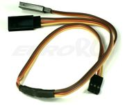 EuroRC JR Straight 22AWG - Y Extension Wire - 30cm