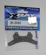 Xray Shock Tower Front For Foam Tires - Graphite