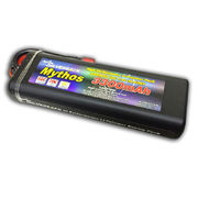 Team Silverpack Mythos 3300mAh 35C/70C 7.4V Hard Tube Case Lipo Pack with Deans Plug