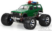Pro-Line 1992 Jeep Cherokee Clear Unpainted Body For T-Maxx