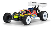 Pro-Line Predator Clear Body for AE RC8B3 Pre-Cut