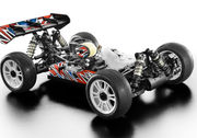 Opened Packing -  Xray XB8 2018 - Luxyrious 1:8 Racing Nitro Buggy KIT