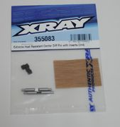 Xray Extreme Heat Resistant Center Diff Pin With Inserts (2+4)