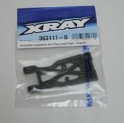 Xray Composite Suspension Arm Rear Lower Right - Graphite