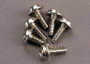Traxxas Screws 3x8mm washerhead self-tapping (6)