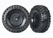 "Traxxas Tires and Wheels Canyon Trail and Tactical 1.9"" (2)"