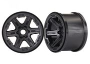 "Traxxas Wheels Carbide 3.8"" Black 17mm (2)"