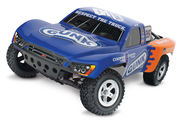 Traxxas Slash 1:10 Scale RTR Electric 2WD Short-Course Truck - Luyendyk Jr. Edition Gunk #25 - 12V DC charger