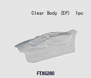 FTX Clear Unpainted Body - Vantage