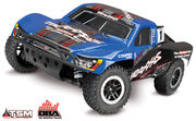 Damaged Packing -  Traxxas Slash 4x4 RTR TQi OBA, TSM w/o Battery and charger - BLUE