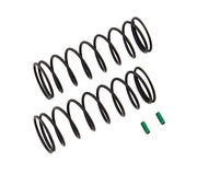 Team Associated Front Springs V2 - Green - 4.9 lb/in, L70, 9.5T, 1.6D (2)
