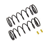 Team Associated Front Springs V2, yellow, 5.7 lb/in, L70, 8.5T, 1.6D