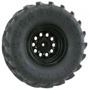 RPM Black Revolver Rock Crawler Wheels - Wide Wheelbase