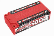 Team Corally Sport Racing 50C LiPo Battery 4800mAh 7.4V Shorty 2S 4mm Bullit