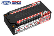 Team Corally Voltax 120C LiPo Battery 5000mAh 7.4V Shorty 2S 4mm Bullit