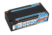 Team Corally X-Celerated 100C LiPo Battery 5000 mAh 7.4V Shorty 2S 4mm Bullit