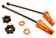 Integy Universal Drive Shafts With Stub Axles For X-Maxx (2)