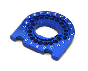 Integy Billet Machined Motor Mounting Plate for Traxxas 1/10 4-Tec 2.0