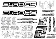 EuroRC Sticker Sheet - 15x10cm