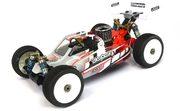 BittyDesign Force Clear body for Kyosho TKI 4
