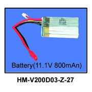Walkera 11.1V 800mAh Battery for  V200D03