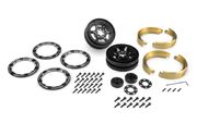 JConcepts Torch – 1.9″ Aluminum Beadlock Wheel Set