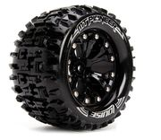 "Louise Tire & Wheel MT-PIONEER 2.8""  - 0-Offset - Black (2)"