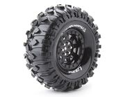"Louise Tire & Wheel CR-Rowdy 1.9"" - Black (2)"