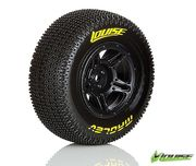 Louise SC - Maglev SC Tyre With Black Rim For Traxxas Rear (Mounted) - Soft - (2)