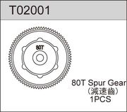 TeamC 80T Spur Gear