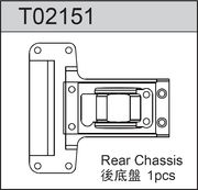 TeamC Rear Chassis Plate For Gear Diff
