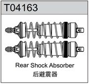 TeamC Rear Shock Absorbers (2) TM4