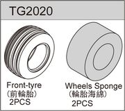 1/10 Truggy tyre - Front (2)