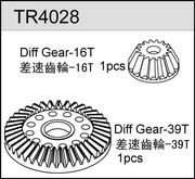 TeamC Diff. Gears - 16/39T