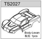 TeamC TS02 Body - Clear Lexan